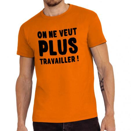 "Tee-shirt homme ""Plus..."