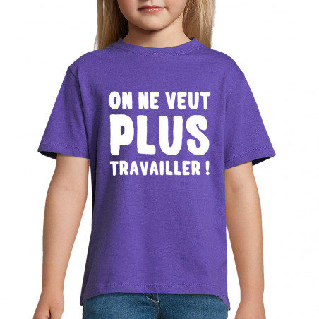 "Tee-shirt enfant ""Plus..."