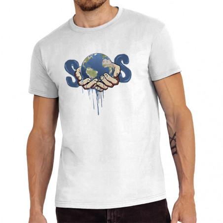 """Tee-shirt homme """"SOS Planète"""""""