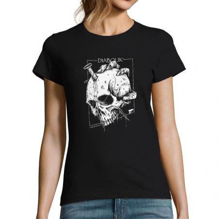 """T-shirt femme """"Nailed Skull"""""""