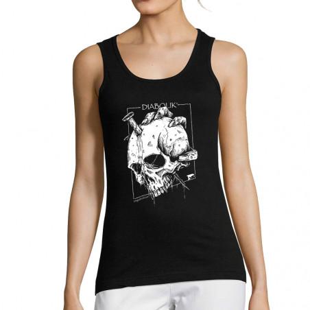 """Débardeur femme """"Nailed Skull"""""""