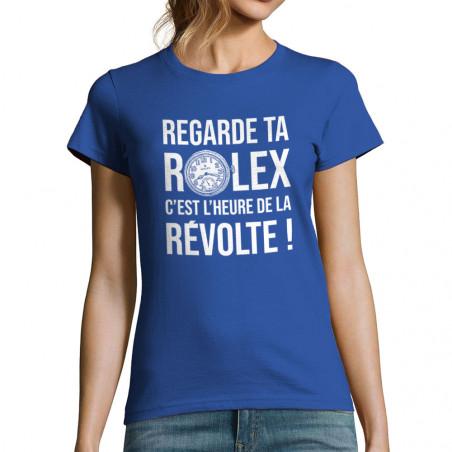 """T-shirt femme """"Heure de la..."""