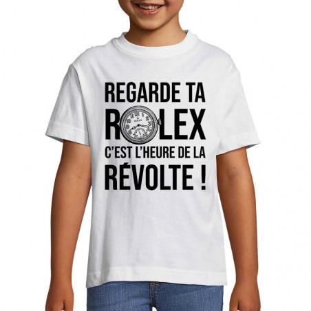 """Tee-shirt enfant """"Heure de..."""