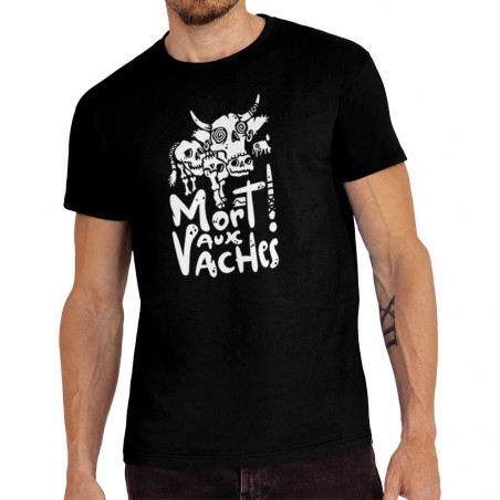 "Tee-shirt homme ""Mort aux..."