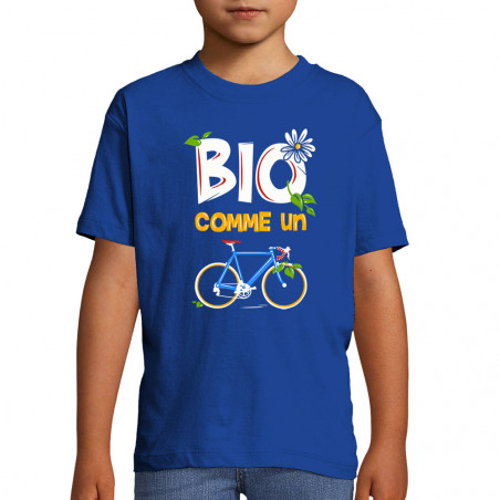 "Tee-shirt enfant ""Bio comme..."