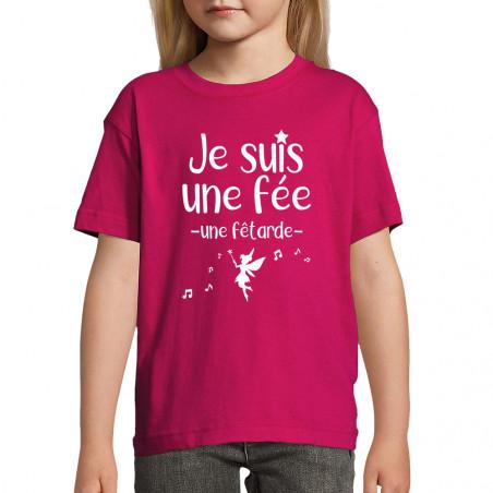 "Tee-shirt enfant ""Fêtarde"""