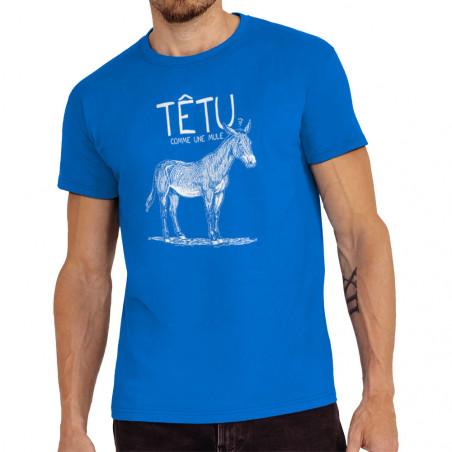 "Tee-shirt homme ""Têtu comme..."