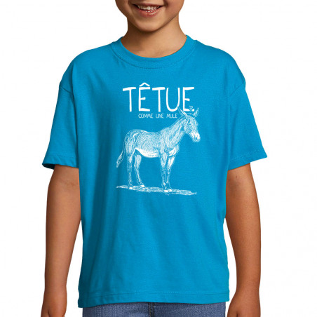 "Tee-shirt enfant ""Têtue..."