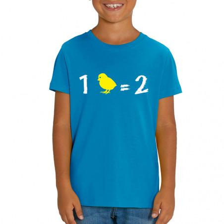 """T-shirt enfant coton bio """"1..."""
