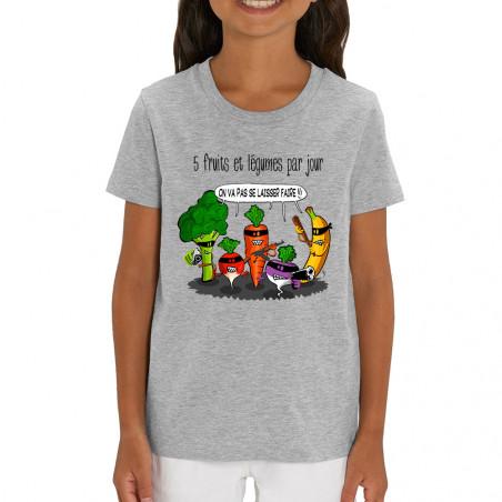 """T-shirt enfant coton bio """"5..."""