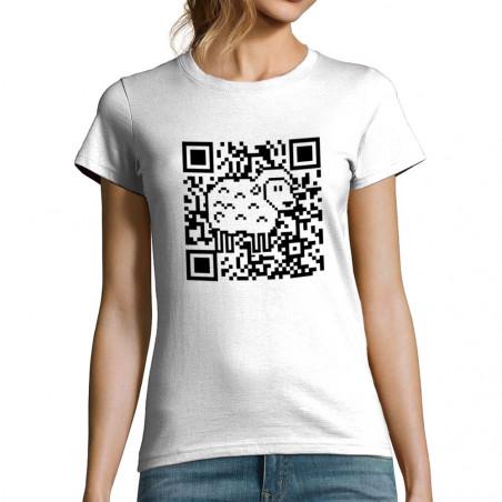 """T-shirt femme """"QR code Mouton"""""""