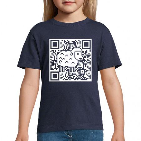 "Tee-shirt enfant ""QR code..."