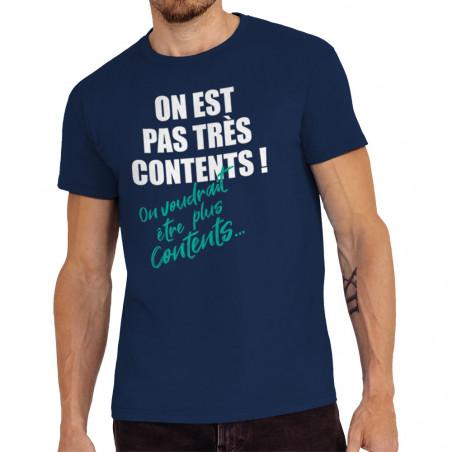 """Tee-shirt homme """"Pas très..."""