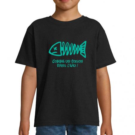 """Tee-shirt enfant """"Comme un..."""