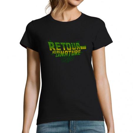 "T-shirt femme ""Retour vers..."