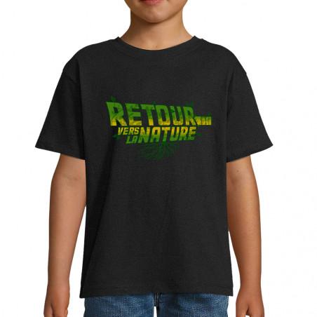 "Tee-shirt enfant ""Retour..."