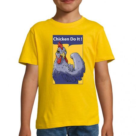 """Tee-shirt enfant """"Chicken..."""