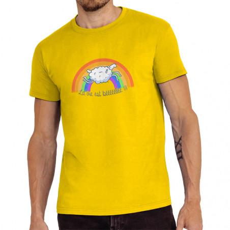 """Tee-shirt homme """"La vie est..."""