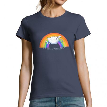 """T-shirt femme """"La vie est..."""