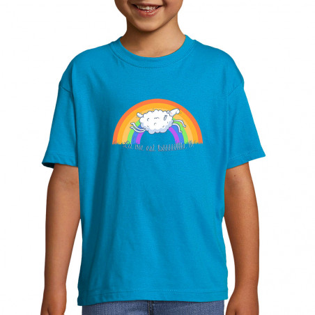 "Tee-shirt enfant ""La vie..."