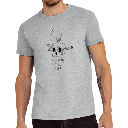 "Tee-shirt homme ""Skull la vie"""