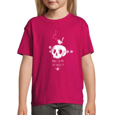 "Tee-shirt enfant ""Skull la..."