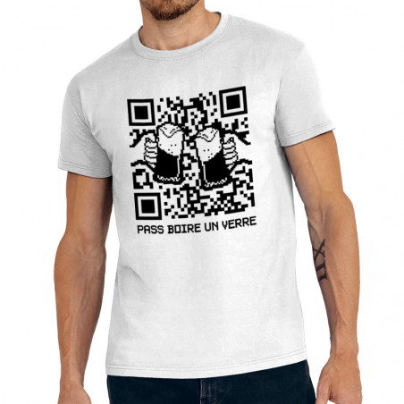 "Tee-shirt homme ""Pass boire..."