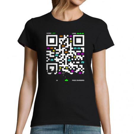 """T-shirt femme """"Pass Invaders"""""""