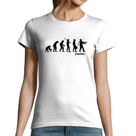 "T-shirt femme ""Zombie..."