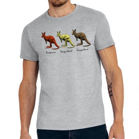 """Tee-shirt homme """"Kangourou"""""""