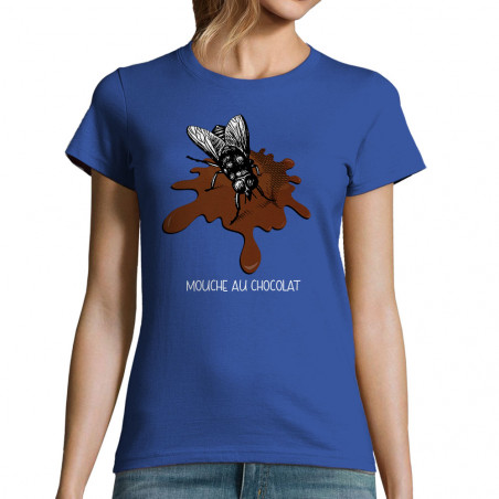 """T-shirt femme """"Mouche au..."""