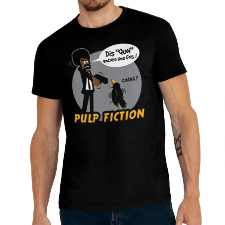 "Tee-shirt homme ""Dis quoi..."