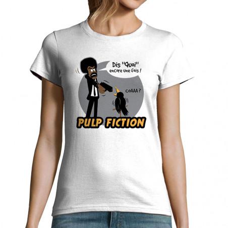 "T-shirt femme ""Dis quoi coaaa"""