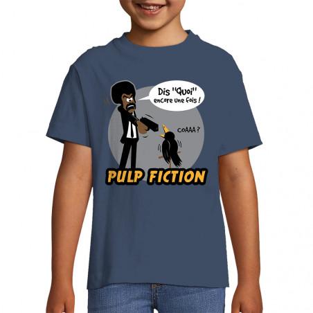 "Tee-shirt enfant ""Dis quoi..."