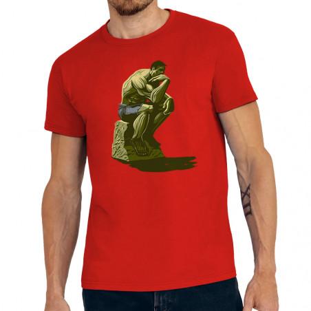 """Tee-shirt homme """"Hulk Penseur"""""""