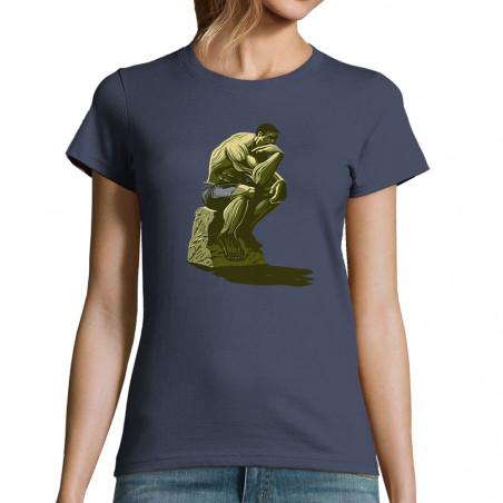 """T-shirt femme """"Hulk Penseur"""""""