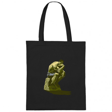 """Sac shopping en toile """"Hulk..."""