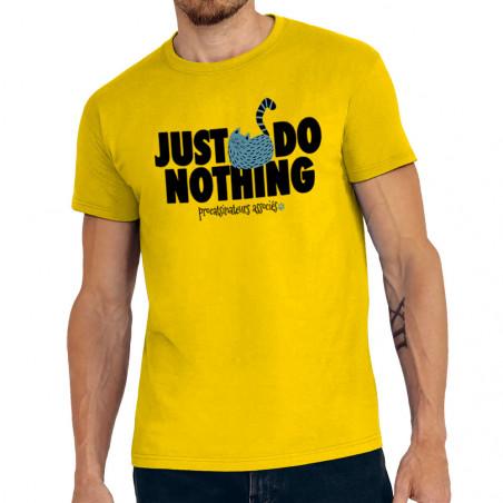 "Tee-shirt homme ""Just Do..."
