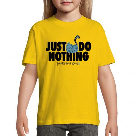 "Tee-shirt enfant ""Just Do..."