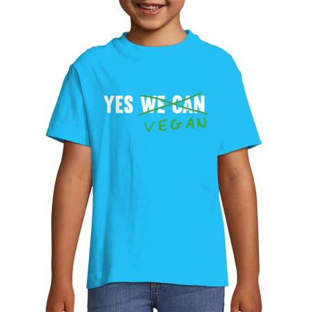 "Tee-shirt enfant ""Yes Vegan"""