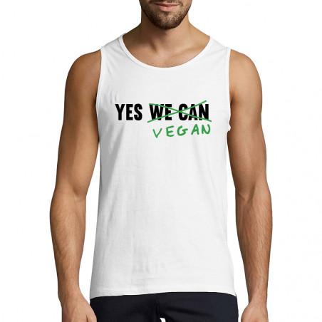 """Débardeur homme """"Yes Vegan"""""""