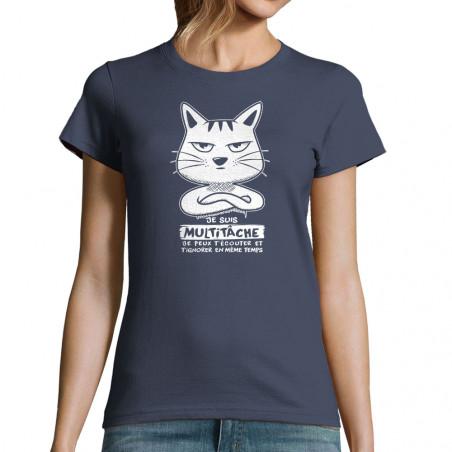 "T-shirt femme ""Chat..."