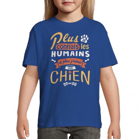"""Tee-shirt enfant """"Mon chien"""""""