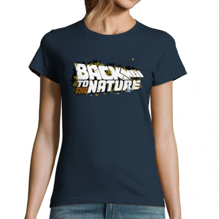 """T-shirt femme """"Back To The..."""