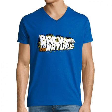 """T-shirt homme col V """"Back..."""