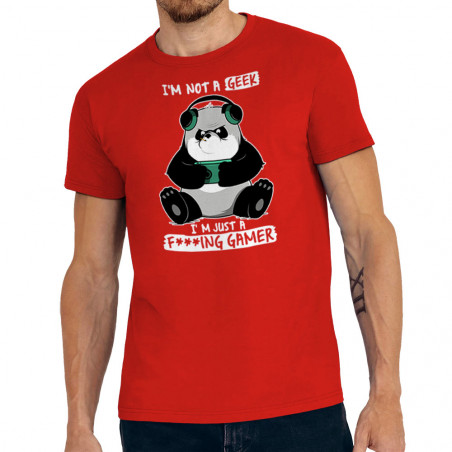 """Tee-shirt homme """"Panda Not..."""