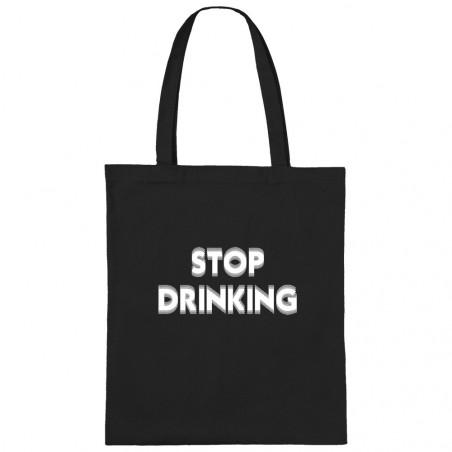 """Sac shopping en toile """"Stop..."""