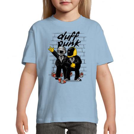 "Tee-shirt enfant ""Duff Punk"""