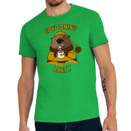 """Tee-shirt homme """"Cocooning..."""