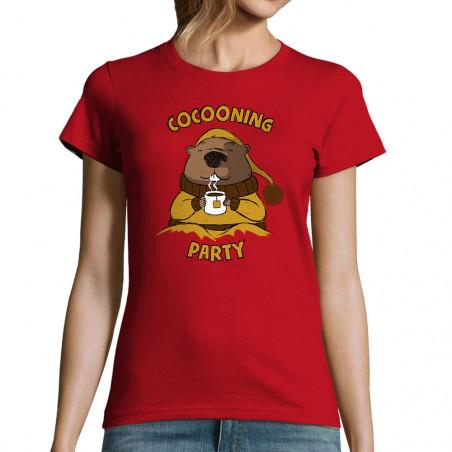 """T-shirt femme """"Cocooning..."""